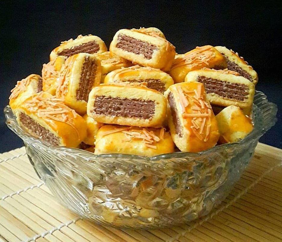 Resep Wafer Cookies Kue Kering Yang Renyah Iniresep Com Resep Kue Kering Resep Kue Kering Mentega