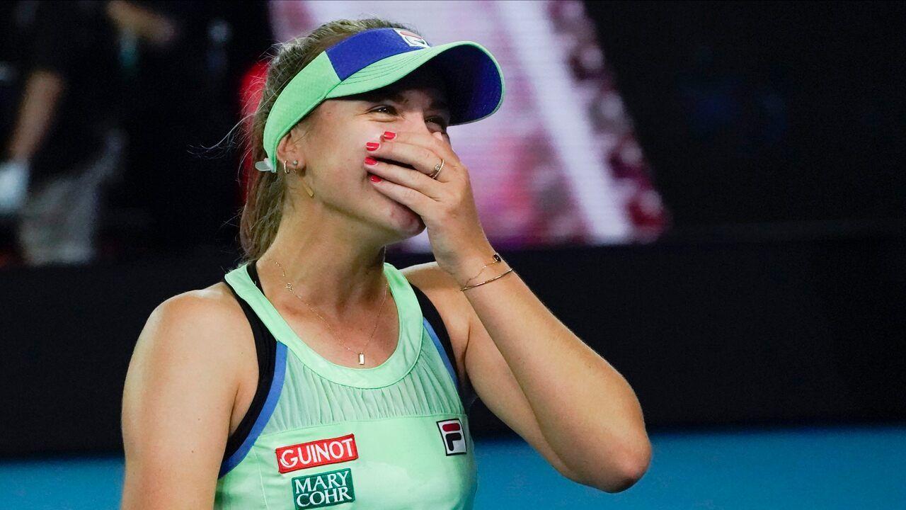 American Sofia Kenin Wins Australian Open Marking First Major Title In 2020 Australian Open Win Or Lose Tennis Stars