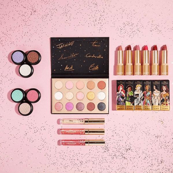 Colourpop X Disney Collab Collection Disney makeup