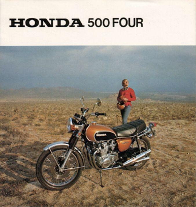 Honda 500 Four Cb500 Vintage Motorcycle Ad 1