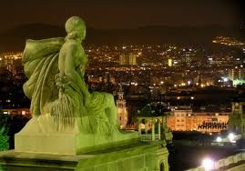 If I could go anywhere in the world, it would be Barcelona, Spain.