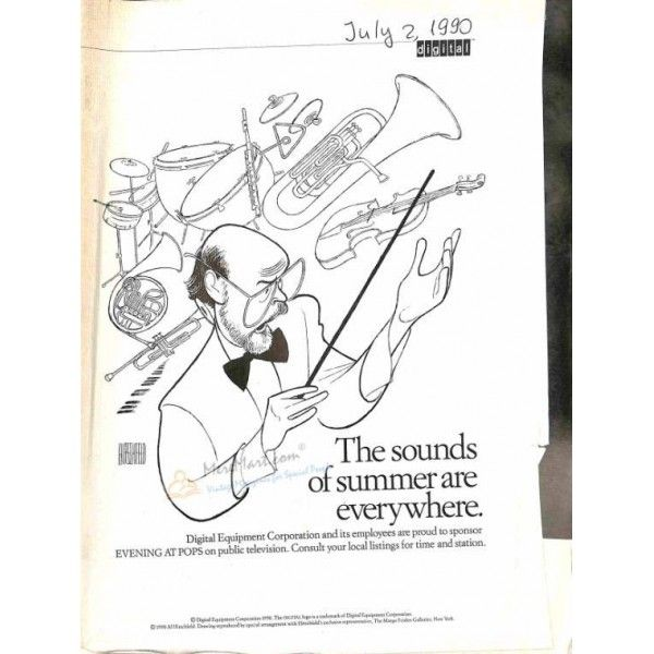 Cover Print of The New Yorker, July 2 1990 | $4.72