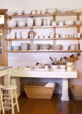 Cocinas Con Estantes Abiertos Estante Estanterias De Cocinas Abiertas Estanterias Abiertas