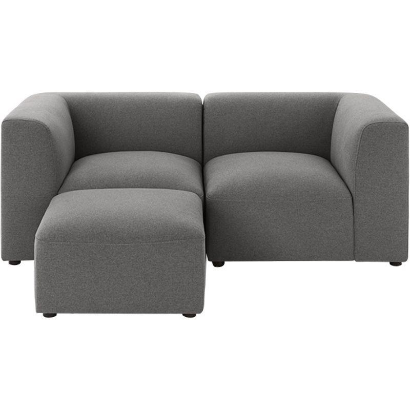 Made Marl Grey Sofa 2 Seater Sofa Sofa Gray Sofa