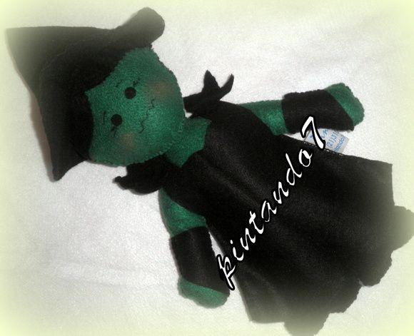Bruxa Malvada do Oeste - Magico Oz | pintando7 | 32BB88 - Elo7