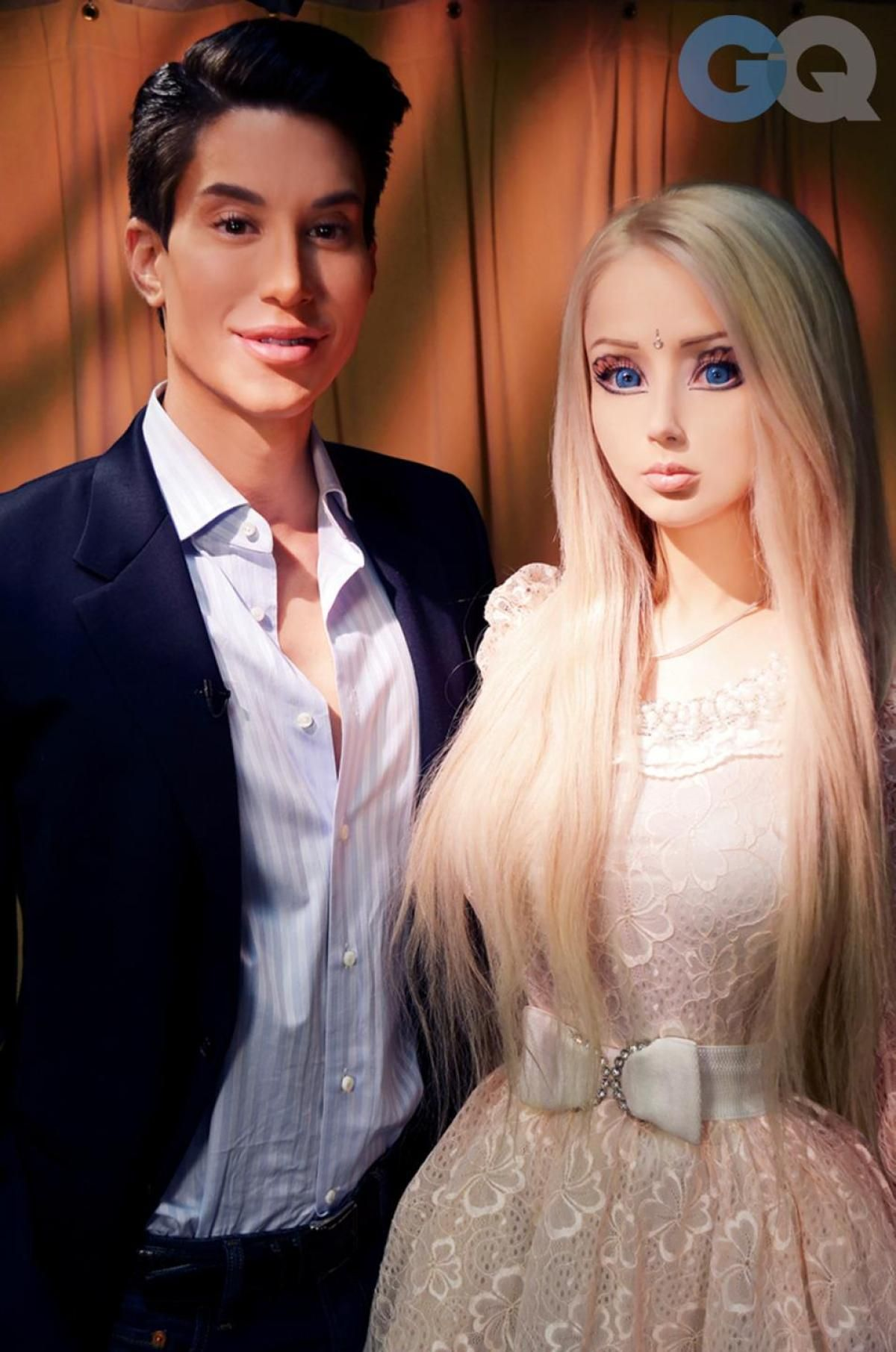 'Human Ken Doll' Justin Jedlica says he doesn't 'really get' his counterpart, Valeria Lukyanova aka 'Human Barbie