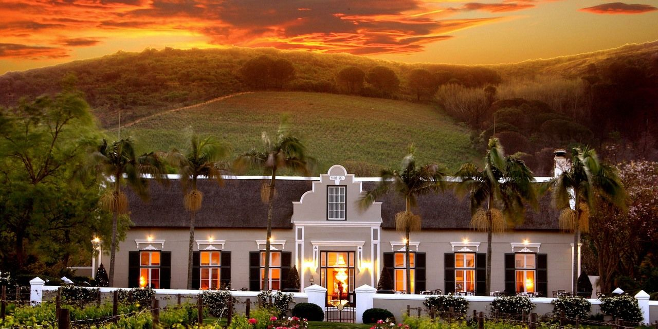 Awesome landscape grande roche south africa