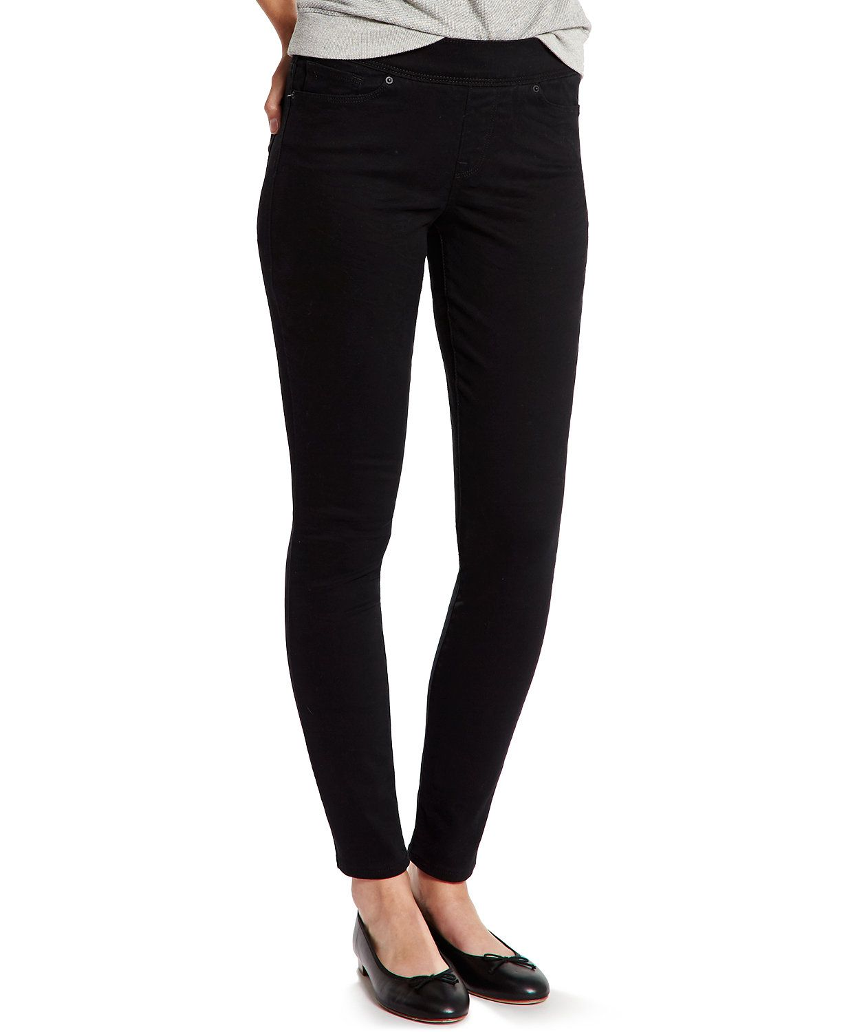 26cbc50f Skinny Perfectly Slimming Pull-On Jeggings | UniformMe | Levis ...