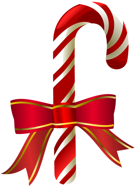 Christmas Candy Cane Transparent PNG Clip Art (With images