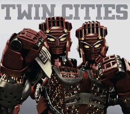 """Name Twin Cities Nickname The Two Headed Tyrant The Tower Of Power From Real Steel 2011 Film ɛ™åŸŽ Ƕ½è™Ÿ ɛ™éæš´å› ƬŠåŠ›ä¹‹å¡"""" Fr Real Steel Boxing Images Steel"""