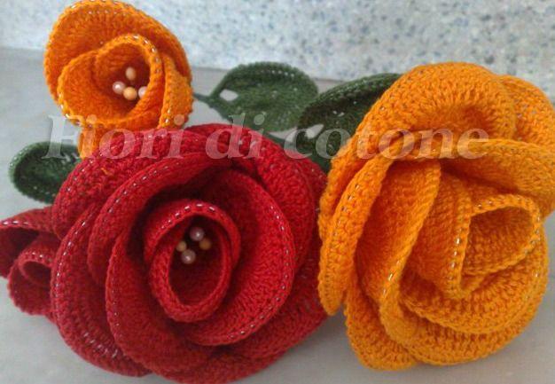 rose häkeln - crochet