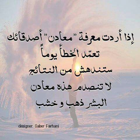 الناس بالدنيا معادن Amazing Quotes Lovely Quote Photo Quotes