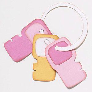 Baby Keys Paper-Piecing Pattern