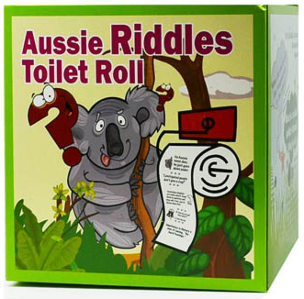 Australiana Aussie Riddles Novelty Toilet Roll 2 Ply Bio  # Muebles Kadmiel