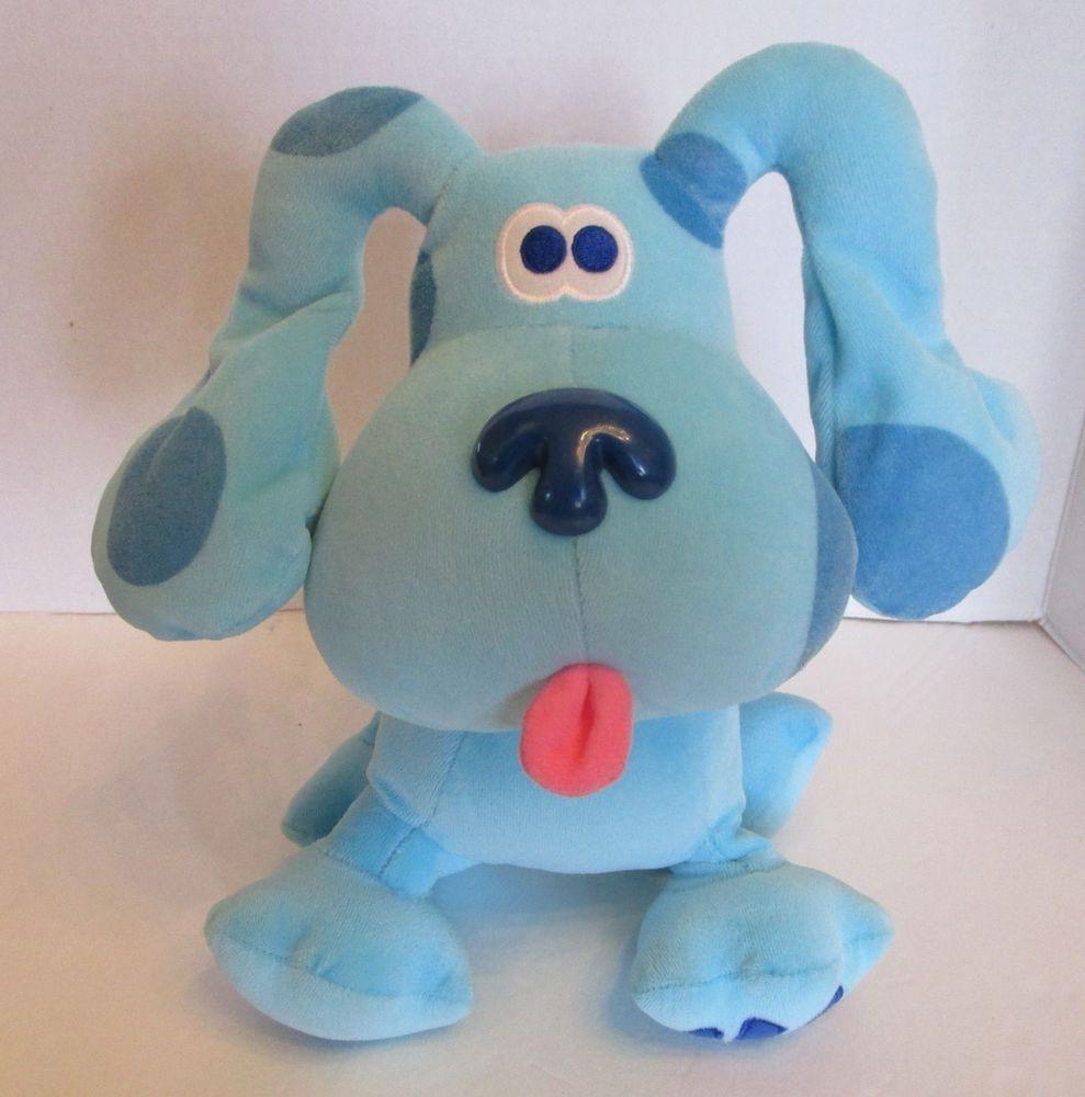 Blues clues green puppy plush Blue Clues Purple Kangaroo Eden Blues Clues Nick Jr 11 Encontrar Una Pareja Eden Blues Clues Nick Jr 11
