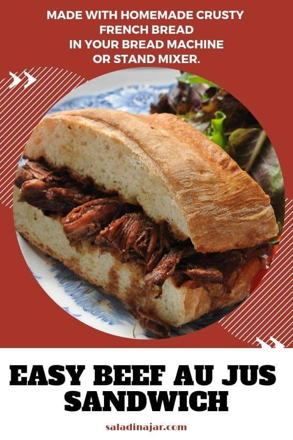 Crusty French Bread (Mixed in a Bread Machine) | Recipe ...