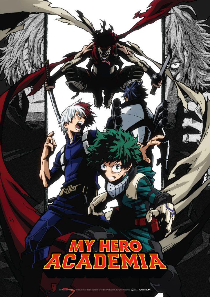 My Hero Academia Season 2 Simuldub Schedule Update Funimation Blog Hero Academia Season 2 Hero My Hero