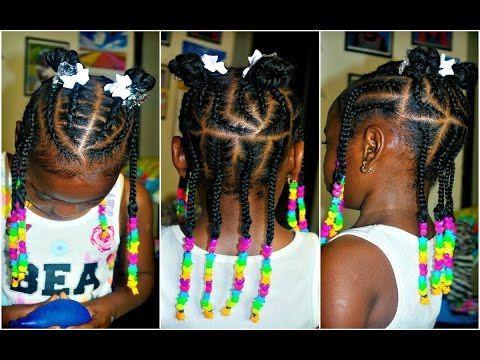 watch me braid  little girls  4 a natural hair  cute