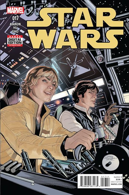 Marvel Cover of the Day: Star Wars #17