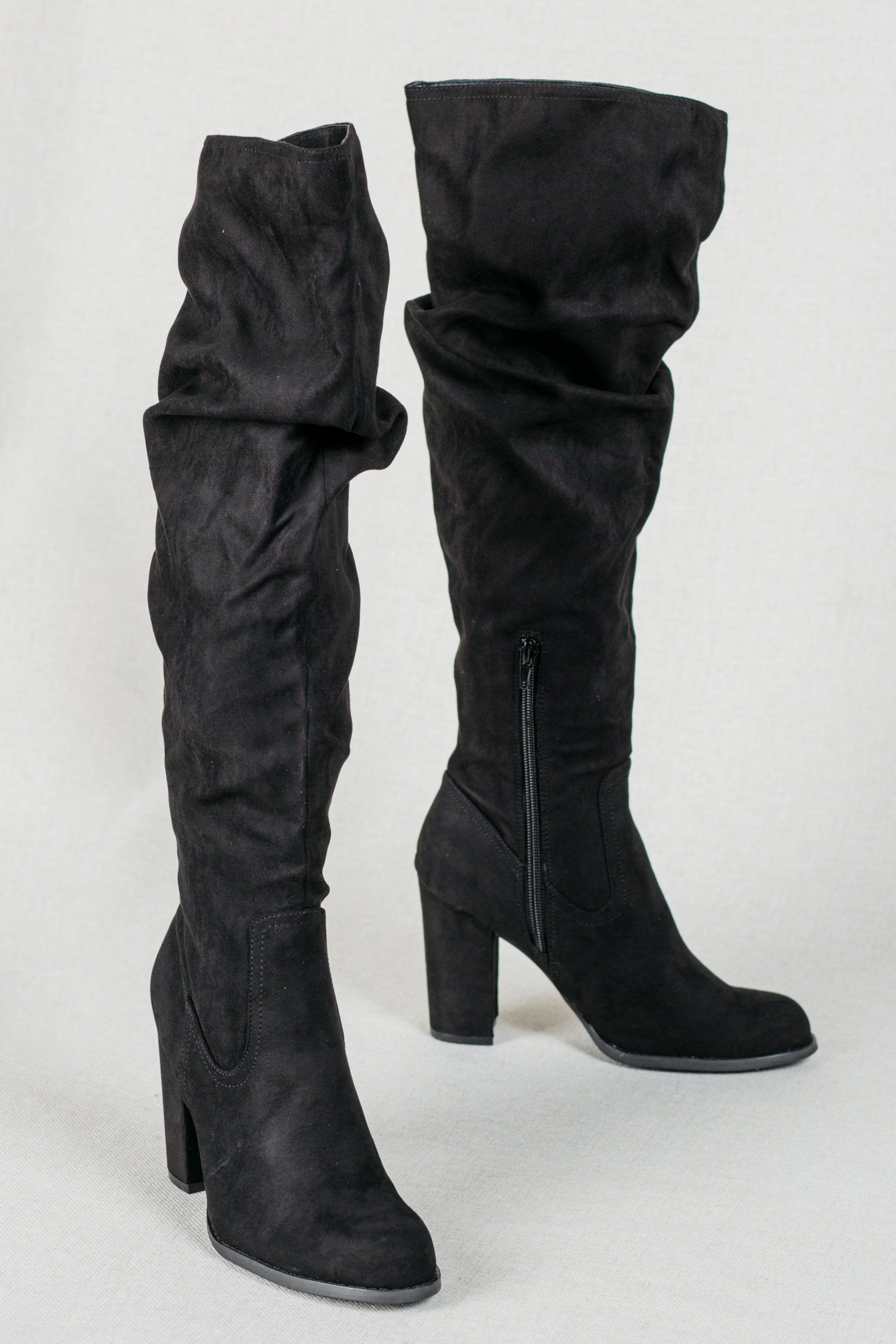 10998786633 Gorgeous over the knee slouchy style boots, and really affordable ...