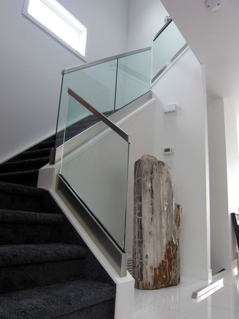Best Railing Glass With Base Shoe And Handrail House Of 400 x 300