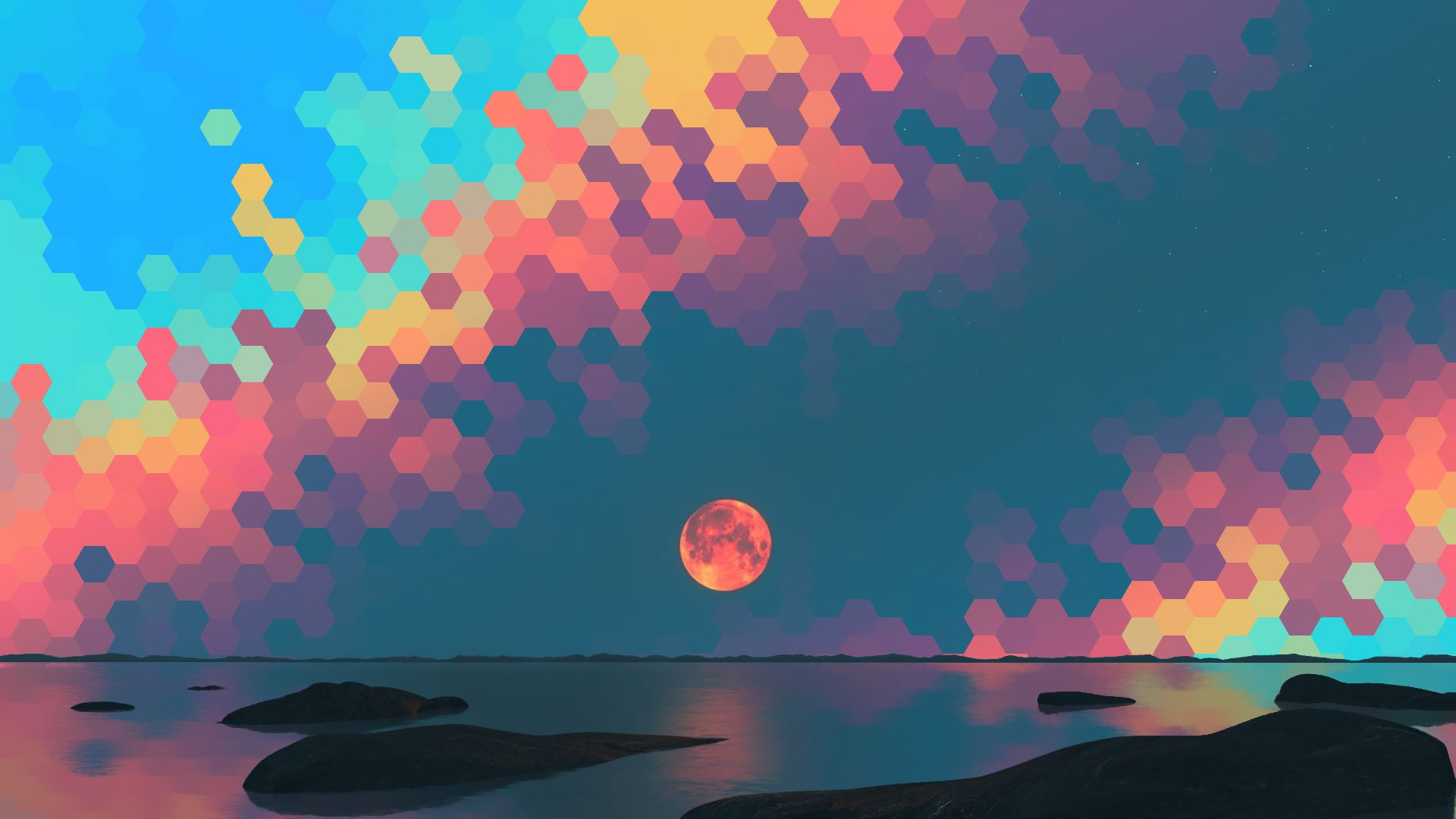 Blood moon (19201080) | Beautiful Wallpaper | Wallpaper ...