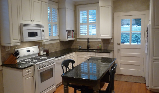 Custom Kitchen Cabinets Charlotte Nc old kitchen pic before they replaced the white corian with verde