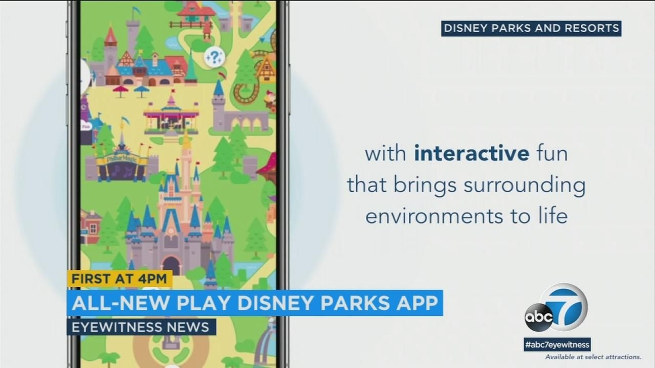 Disney parks to roll out interactive 'Play Disney Parks' app
