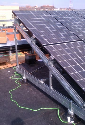 Unistrut Mounting System Solar Energy Solar Roof