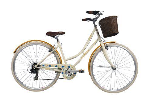 Elswick Women S Desire 700c Heritage Bike Soft Cream Comfort Bicycle Comfort Bike Bicycle Gear