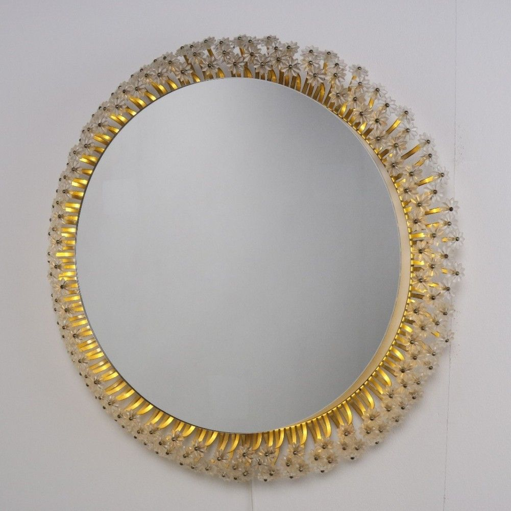 Large Emil Stejnar Illuminated mirror s Various Vintage