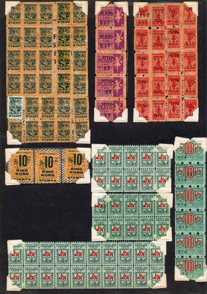 Among Those Donated To Us The S Amp H Green Stamps Also