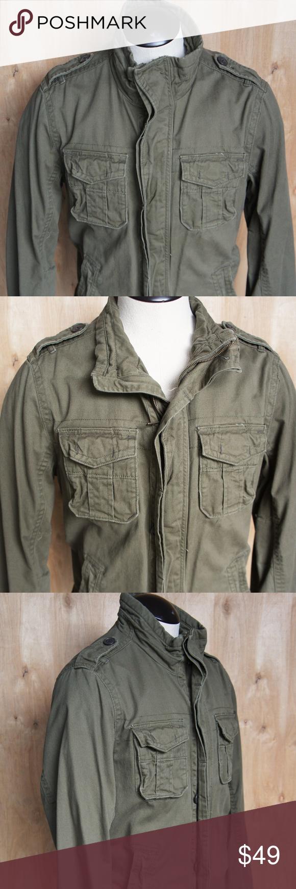 Men S English Laundry Fatigue Jacket Blaque Label Jackets English Laundry Field Jacket [ 1740 x 580 Pixel ]