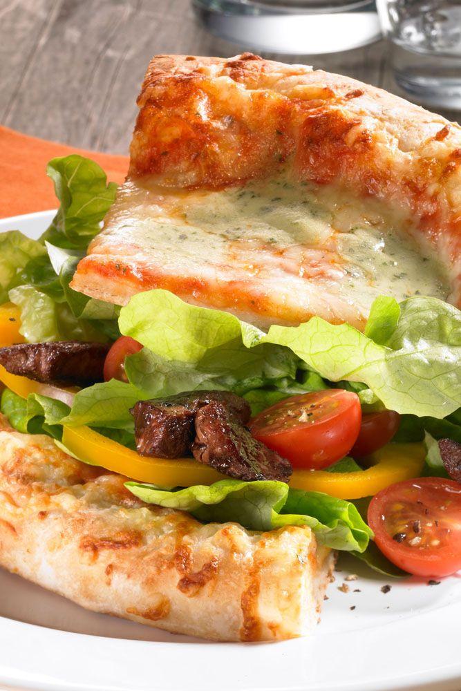 Pizza-Burger | Rezept | Mediterrane Küche - von Griechenland nach ...
