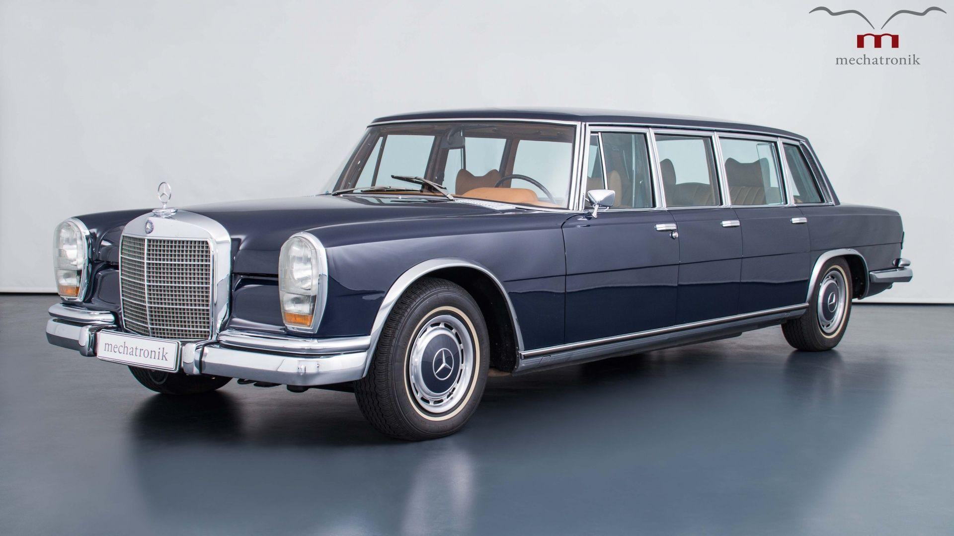 mercedes benz 600 pullman 1972 mercedes benz 600 mercedes benz oldtimer autos. Black Bedroom Furniture Sets. Home Design Ideas