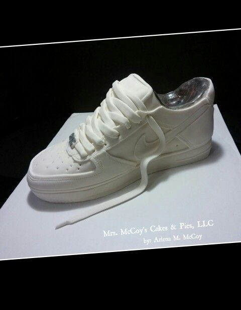 3D Nike Air Force 1 Shoe Cake