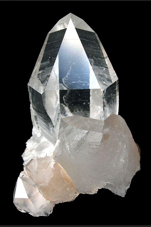 lote de 6 piedra semipreciosa Cuarzo transparente