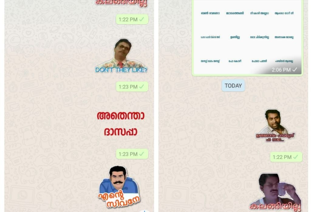 Now Send Malayalam Whatsapp Stickers To Your Friends Learn How To