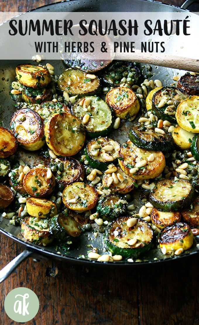 his sautéed zucchini recipe is so incredibly delicious In essence you sauté summer squash and dress them with a knife pesto Serve it with homemade bread and...