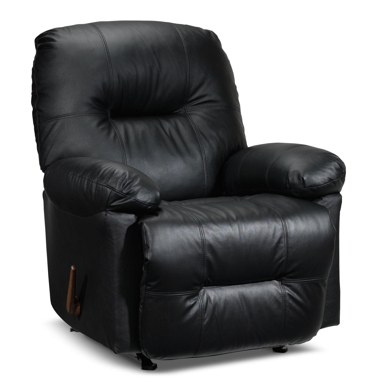 hunter leather recliner leon 39 s desireable furniture. Black Bedroom Furniture Sets. Home Design Ideas