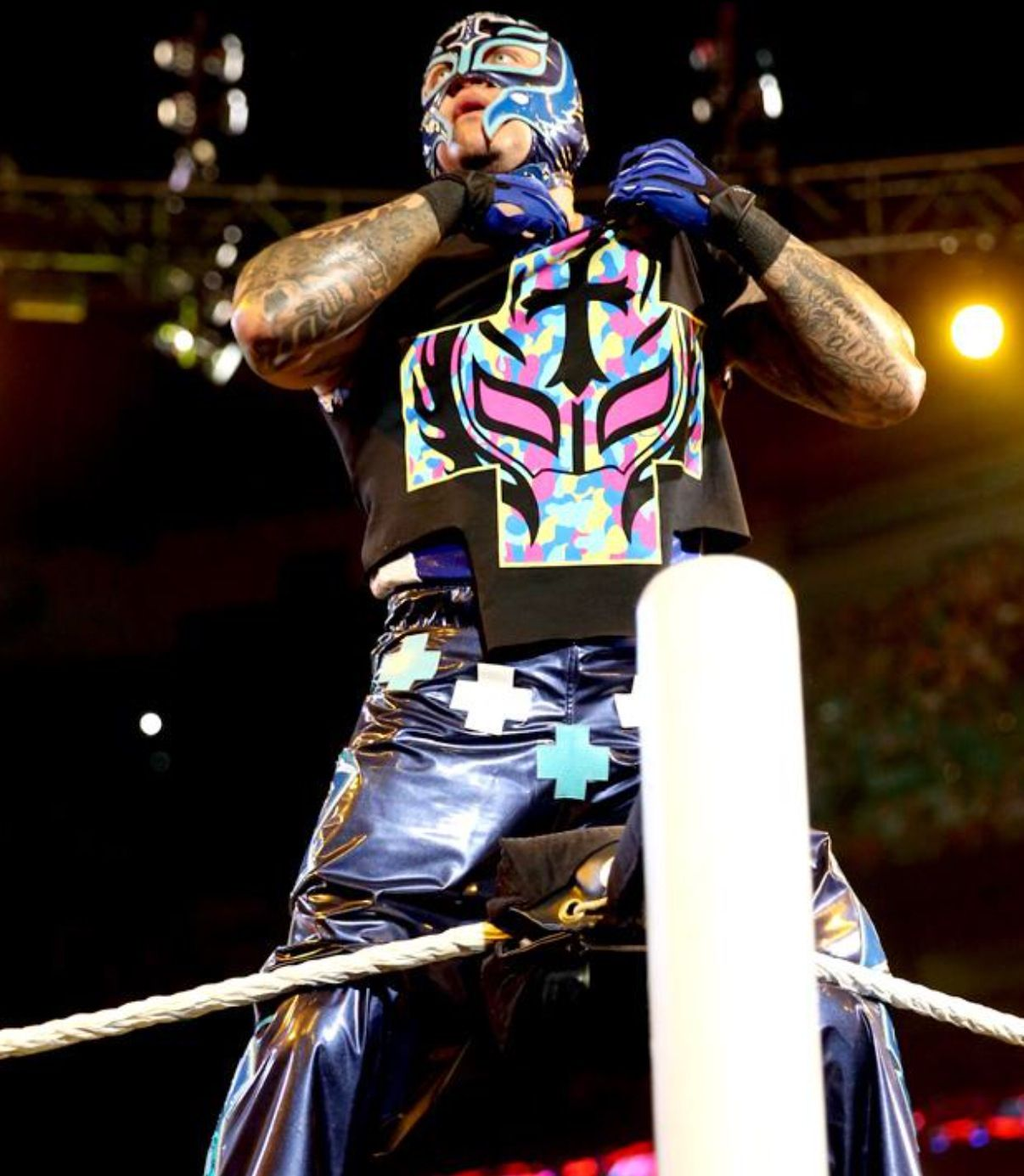 Lucha Libre Rey Misterio Wwe Rey Mysterio Wwe Pinterest