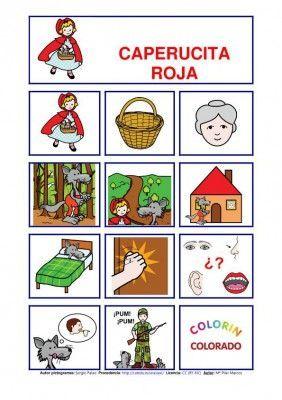 Caperucita Roja Cuentos Pictogramas Caperucita Cuentos Pictogramas Caperucita Roja Cuentos Creativos