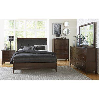 Wrought Studio Jeffries Panel Configurable Bedroom Set in 2018