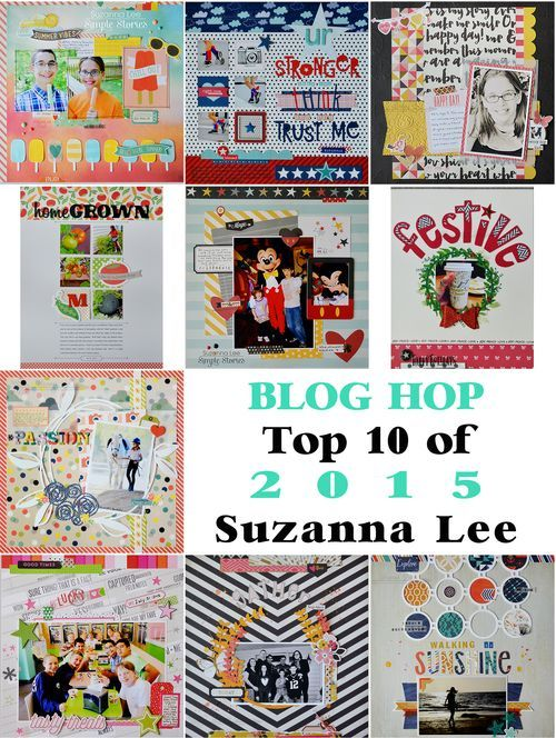 Top 10 Scrapbooking Projects of 2015