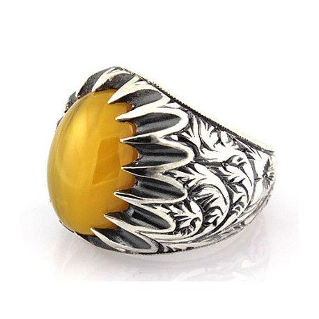 Authentique men ring sterling Silver 925 men ring design with