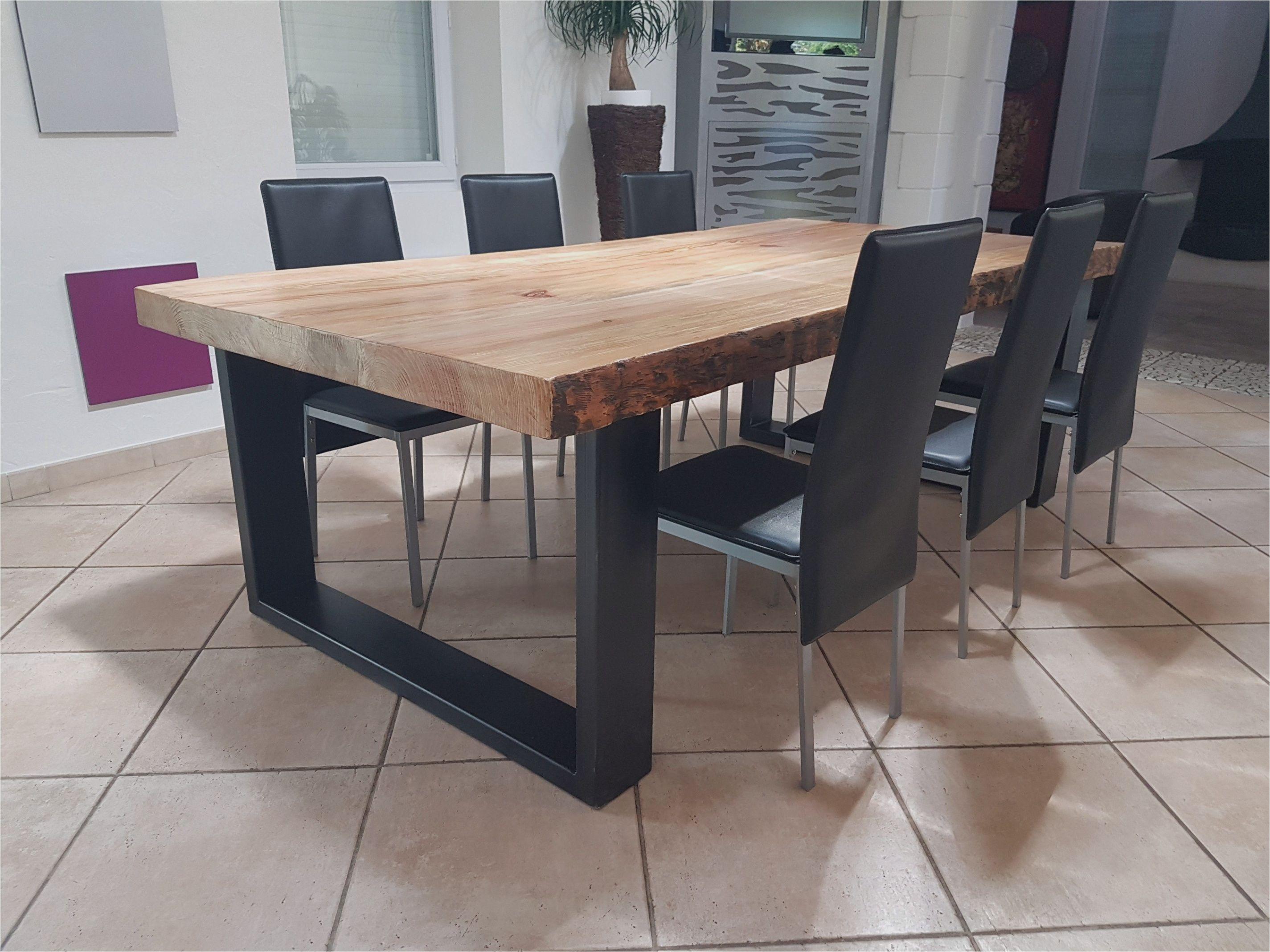 Table En Bois Chene Clair table chene clair avec rallonge - table salle a manger bois