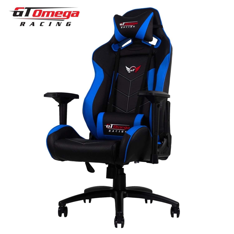 Gt omega elite racing gaming chair with ergonomic lumbar