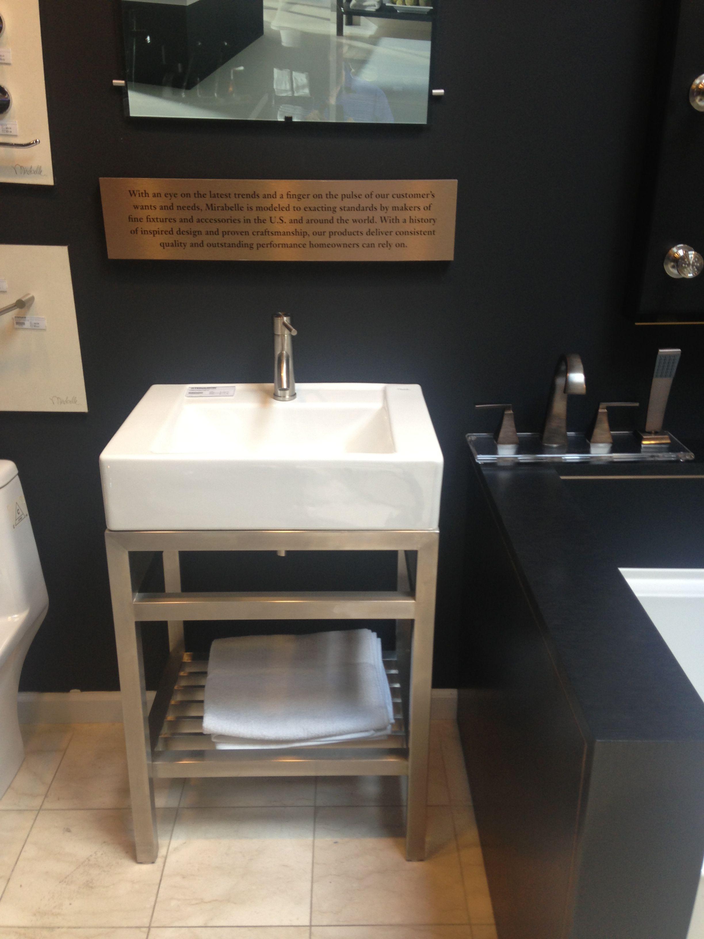 Bathroom Sink With Stand Mirabelle Bathroom Vanity Bathroom Sink