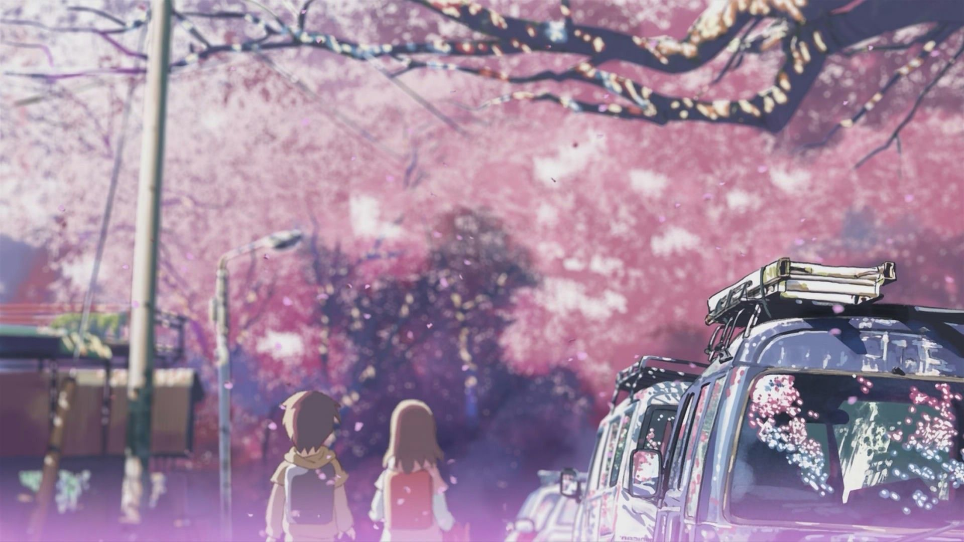 Wallpaper Blink 5 Centimeters Per Second Wallpaper HD 4