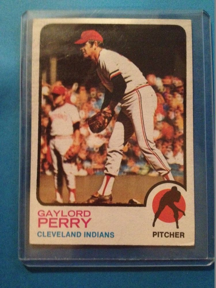 Gaylord Perry Cleveland Indians 1973 Topps 400 Exnrmt